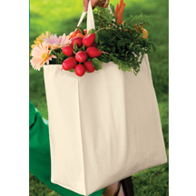 Port Authority 100% Cotton Grocery Tote