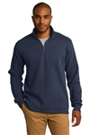 Men's Slub Fleece 1/4-Zip Pullover