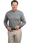 Men's Interlock Knit Mock Turtleneck