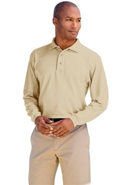 Men's Silk Touch Sport Shirt (Long Sleeve)