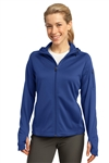 Ladies Tech Fleece Full-Zip Hooded Jacket by Sport-Tek®