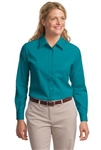 Ladies Easy Care Twill Shirt (Long Sleeve)