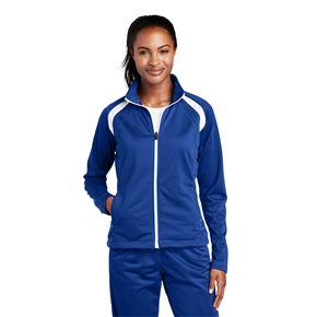 Ladies Sport-Tek - Tricot Track Jacket
