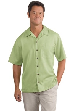 Men's Camp Shirt Easy Care