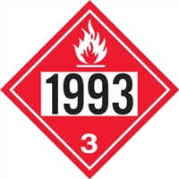 1993 Flammable Liquid DOT Marker