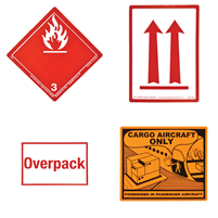 Avgas Shipping Labels