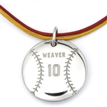 MyMVP Baseball/Softball Necklace