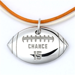 MyMVP Football Necklace
