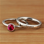 LifeNames Stacking Ring Set