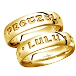 LifeSpirit 5.5MM 14K Gold Band