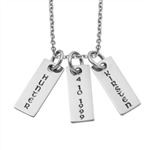 Rectangular LoveTag Starter Necklace