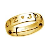 LifeLove 5.5MM 14K Gold Band