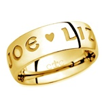 LifeLove 8.5MM 14K Gold Band