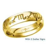 LifeSigns 5.5MM 14K Gold Band