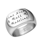 LifeNames PageSignet Ring - Medium