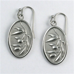 Basia's Olive Branch Earrings
