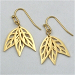 Giselle's Breezy Eucalyptus Trio Earrings
