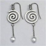 Naomi's Spiral Earrings