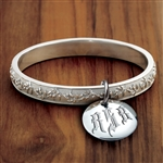 Olive Branch Vesta Bangle - Gothic