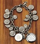 Vesta Fields of Sunflowers Bracelet