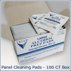 Metal Roofing Panel Cleaning Pads For Snow Guard Installation