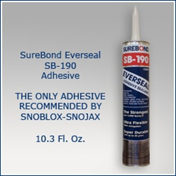 SureBond SB-190 Metal Roof Adhesive For Snow Guard Installation