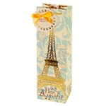 Eiffel Tower - Illustrated Wine Bag
