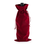 Dark Red Velvet 750 ml Bottle Sack
