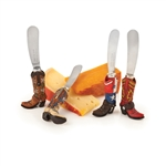 Rodeo: Assorted Cowboy Boot Cheese Spreaders