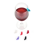 Stiletto Wine Charms by Blush - Set of 6