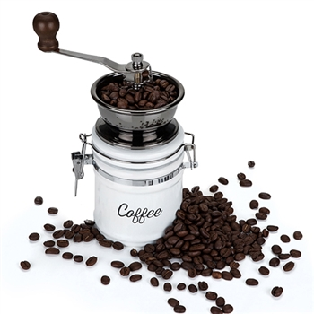 "Country Cottageâ""¢ Ceramic Coffee Grinder"