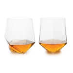 "Senecaâ""¢ Faceted Crystal Tumblers (Set of 2)"