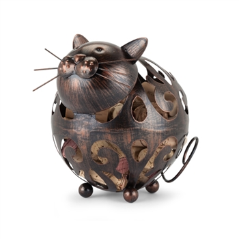 "Whiskersâ""¢ Cat Cork Holder"