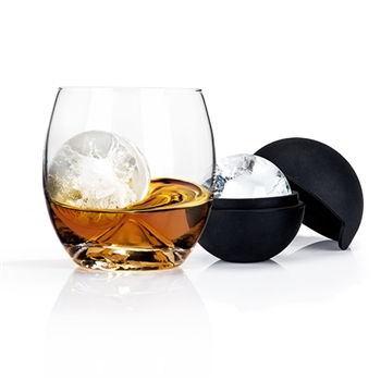 Ice Ball Mold and Tumbler Set