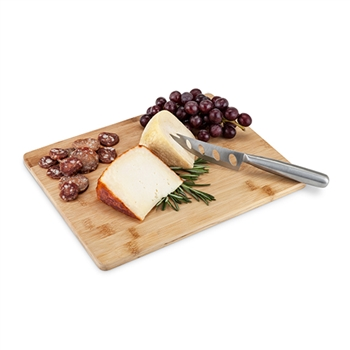 "Appetizeâ""¢: Bamboo Board & Knife Set"