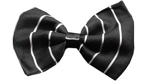 Dog Bow Tie Pinstripes