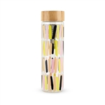 Blair Sprinkles Glass Travel Infuser Mug