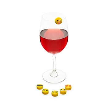 Emoji Drink Charms