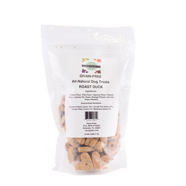 All Natural Dog Treats Grain Free Roasted Duck
