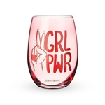 GRL PWR STEMLESS WINE GLASS