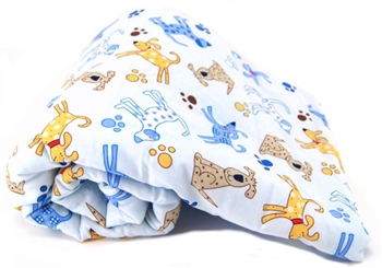 BLUE SPOT DOG PET BLANKET