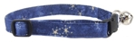 DENIM STARS CAT COLLAR