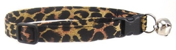 LEOPARD SPOTS CAT COLLAR