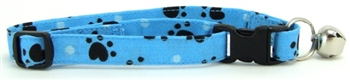 AQUA HEART PAWS CAT COLLAR