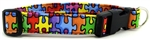 AUTISM AWARENESS RAINBOW PUZZLE DOG