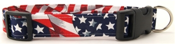 FLAG DOG COLLAR