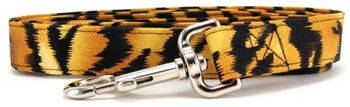 TIGER STRIPES DOG LEASH