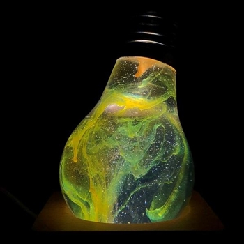 Galaxy (Glow in the Dark Bulb)