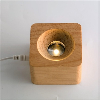 Light Base with Built-In Light Source USB Plug