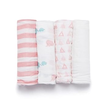 BAMBOO VISCOSE ELEPHANT SWADDLE SET